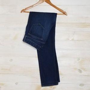 LOFT Jeans Curvy Flare